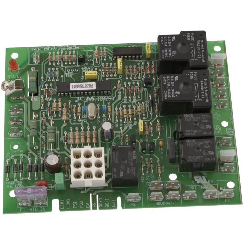 ICM Controls ICM280 Furnace Control Replacement for OEM Models Including Goodman B18099-xx Series Control Boards, Multicolor