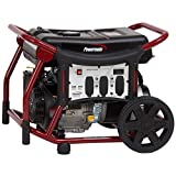 Powermate PM0145400.50 WX5400 Portable Generator, Red, Black