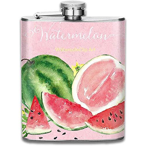 Flachmann Für Schnaps Wassermelone Clip Art Durable Edelstahl Flachmann Flagon Auslaufsicher Flachmann Für Reisefischen Picknick