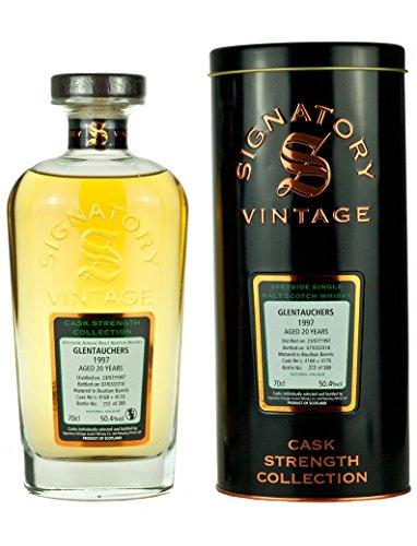 Signatory Vintage Glentauchers Collezione 1997 Scotch di Malto Singolo Invecchiamento 20 Anni - 700 ml