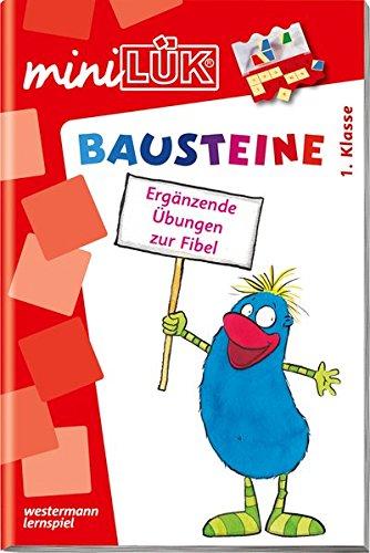 miniLÃœK-Ãœbungshefte: miniLÃœK: 1. Klasse - Deutsch: Bausteine - Ãœbungen angelehnt an das Lehrwerk: Deutsch / 1. Klasse - Deutsch: Bausteine - Ãœbungen ... das Lehrwerk (miniLÃœK-Ãœbungshefte: Deutsch)