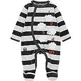 boboli - Pijama de bebé de Manga Larga Gris 80 cm