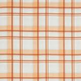 englisch dekor Dekostoff Vorhangstoff Karomuster orange