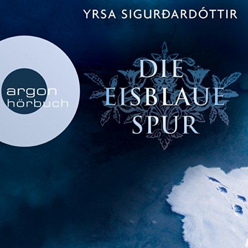 Die eisblaue Spur audiobook cover art