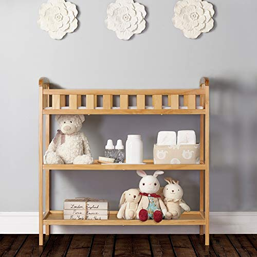 Dream On Me Emily Changing Table Natural Natural Finish