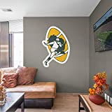 FATHEAD Green Bay Packers: Classic Logo - Officially Licensed NFL Removable Wall Decal