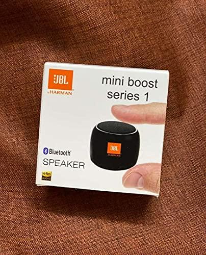 Smart Bluetooth Speaker Mini Boost Series 1 I Splash Proof I Call& Music