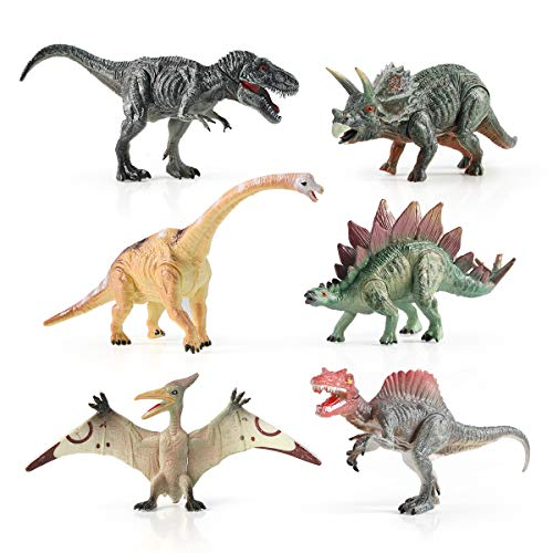 12pcs Dinosaur Toys Set Realistic Simulated Playset