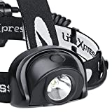 LiteXpress Liberty LED Stirnlampe mit Rücklicht
