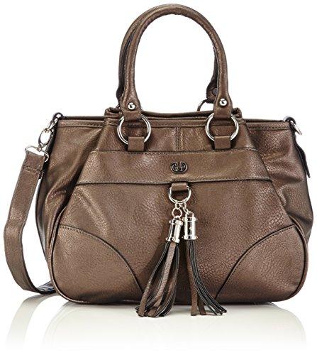 Gerry Weber Morning Light Handbag 4080002973 Damen Henkeltaschen 31x24x16 cm (B x H x T), Silber (metallic 960)