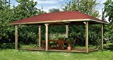 Weka Pavillon Gartenoase 651 D Größe 2 Sparset