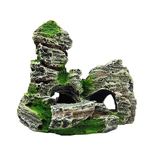Ogquaton - Piedra de Resina Artificial para decoración de Acuario