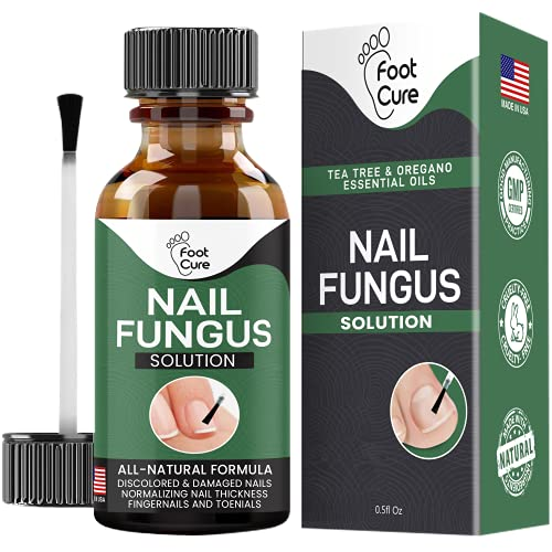 Extra Strong Nail & Toe Fungus Treatment - Made In USA, Best Nail Repair Set, Fungi Fingernail & Toenail Solution, Fix & Renew Damage Fungal Nail, Broken, Cracked & Discolored Nails 1 Pack