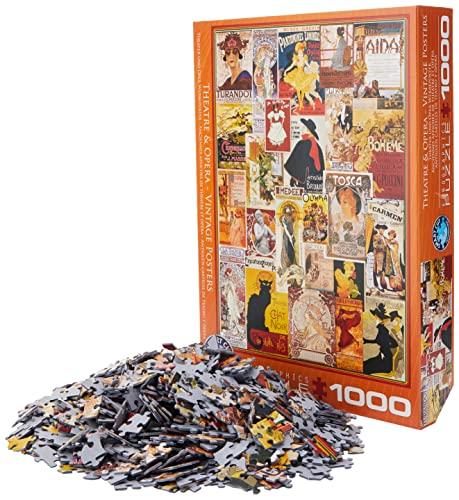 EuroGraphics- Puzzle, Multicolore, Taglia unica, 6000-0935