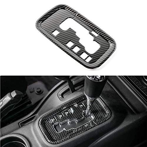 TGCF Interruptor de Carbono Panel Decoración Cubierta Etiqueta Interior para Jeep Wrangler JK Rubicon Sahara Sport 2/4 Puerta 2011-2017