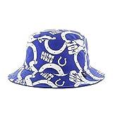 '47 Indianapolis Colts Bravado Printed All Over Bucket Hat - NFL Gilligan Fishing Cap