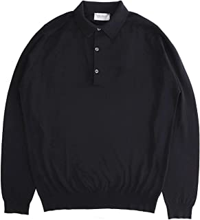 JOHN SMEDLEY ジョンスメドレー 長袖 ポロシャツ/BRADWELL ブラッドウェル 30ゲージ メンズ [並行輸入品]
