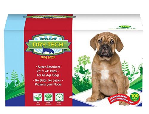 Penn-Plax (DTP6) Dry-Tech Pet Dog Training Pads100 Piece Pack