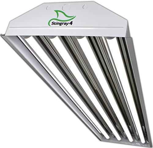 PrimeLights 4 Bulb / Lamp T8 LED Garage Warehouse Light