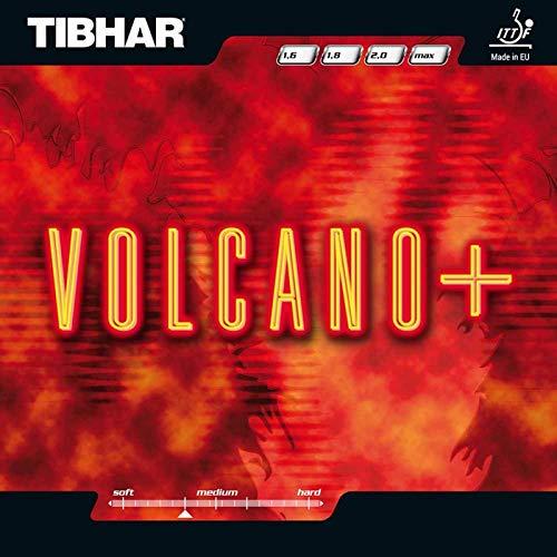 Tibhar Belag Volcano Plus Optionen 1,8 mm, rot