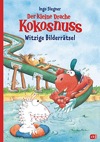 Der kleine Drache Kokosnuss – Witzige Bilderrätsel: Kinderbeschäftigung ab 6 Jahre