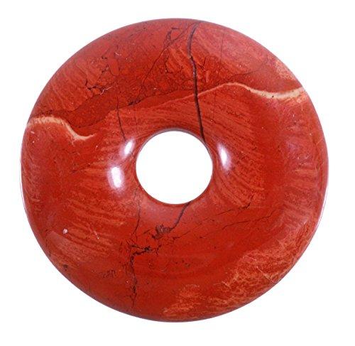 Lebensquelle Plus Roter Jaspis Edelstein Donut Ø 30 mm Anhänger