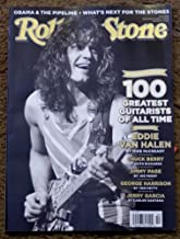 Rolling Stone December 8, 2011 Eddie Van Halen (Special Issue 100 Greatest Guitarists of all Time, Issue 1145)