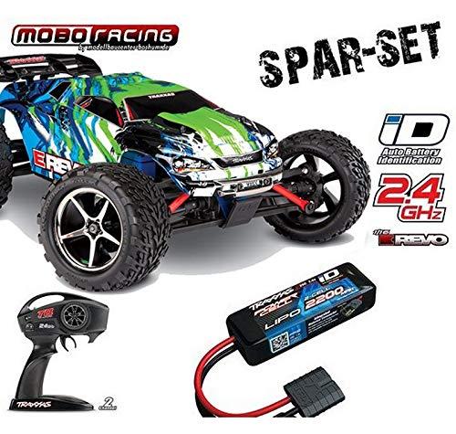 Traxxas 71054-1 E-Revo 1:16 Brushed RTR 2,4GHz 4WD +2200mAh 2S LiPo-Akku grün