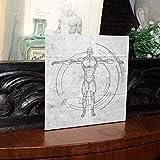 12 teiliges Leinwand Set- Weiße Leinwand für Künstler- Leinwand Tafeln zum Bemalen der Größe 20 x 20cm- Acryl Malerei - Weiße, bespannte Leinwand für Acrylmalerei- Leinwand für Aquarellmalerei (12 Pcs) - 6