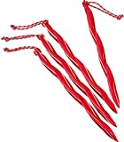 MSR Cyclone 10' Tent Stake, 4 Pack, Red