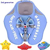 V Convey 4-24 Months Children Non-Inflatable Lying Swimming Pool Float Ring (Blue)