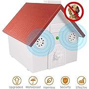 Anti Barking Device,Ultrasonic Anti Barking,Hidden Barking Deterrent Devices Pet Trainer with Adjustable Ultrasonic Level Control, Bark Box Bark Control for Small Medium Large Dogs