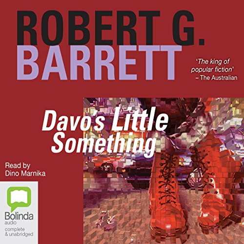 Davo's Little Something audiobook cover art
