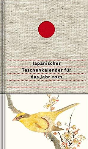 Japanischer Taschenkalender für das Jahr 2021: Mit 52 Haiku von Matsuo Bashô und von seinen Meisterschülern: Mit 52 Haiku von Matsuo Bash und von seinen Meisterschlern
