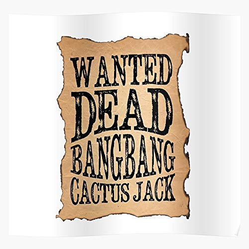 Cloudconer WWE Cactus Ultimate Bang Wrestling Man Jack Macho Hogan Sting Warrior Impressive Posters for Room Decoration Printed with The Latest Modern Technology on semi-Glossy Paper Background