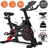 Best Stationary Bikes - TRYA Spin Bike, Belt Drive Indoor Cycling Bike Review