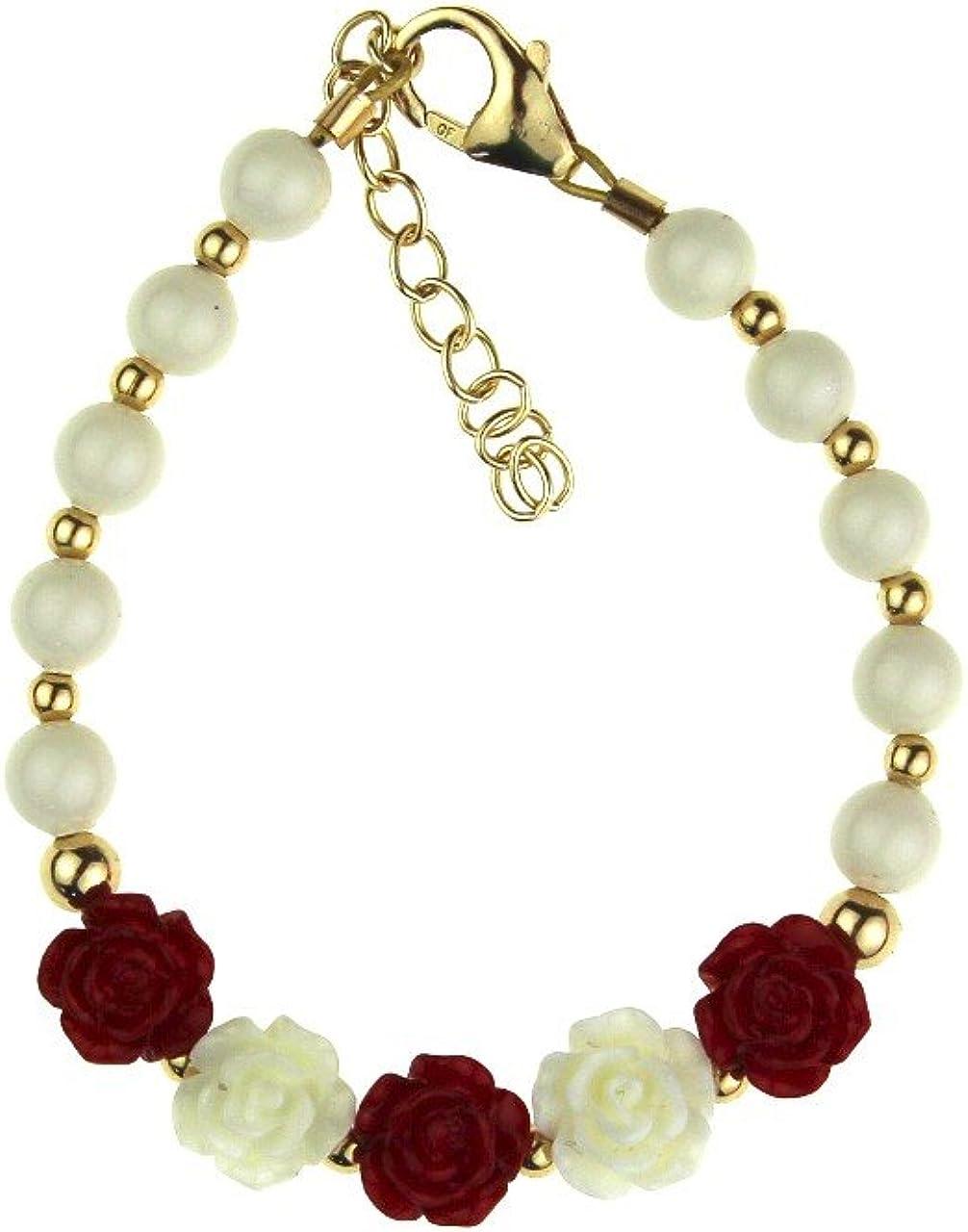 Selling Crystal Dream Elegant 14KT Luxury Gold-Filled Br Girl Baby Beads