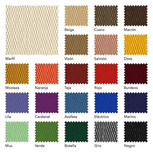 Martina Home Tunez Copridivano elastico, Tela (50% poliestere, 45% cotone, 5% elastan), Grigio, 3 posti da 180 a 240 cm di larghezza
