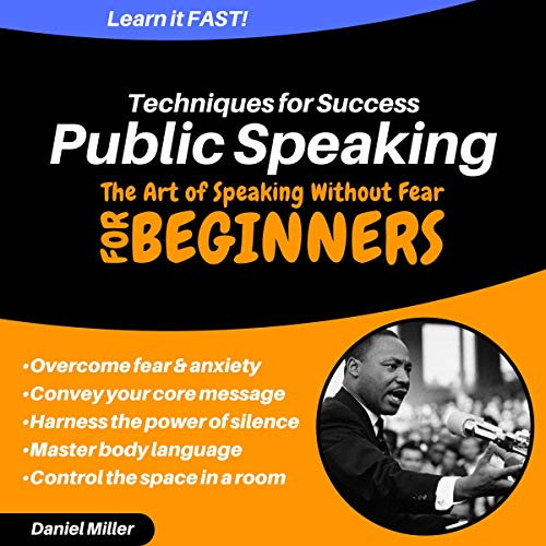 『Public Speaking Techniques for Success: The Art of Speaking Without Fear』のカバーアート