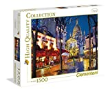 Clementoni- Collection: Paris-Montmartre Los Pingüinos De Madagascar Puzzle, 1500 Piezas, Multicolor (31999)