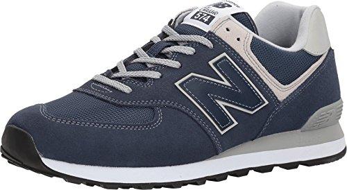 New Balance 574v2 Core', Sneaker Uomo, Sintetico, Blu (Navy), 40 EU
