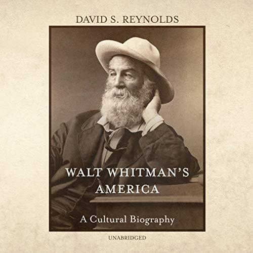 Walt Whitman's America audiobook cover art