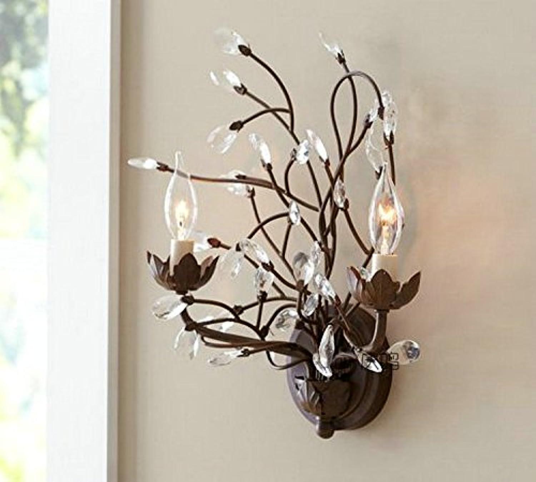StiefelU LED Wandleuchte nach oben und unten Wandleuchten Doppelte wand Lampe rustikale Bar Leuchten Shop Home Decor Dual head Bügeleisen, 60