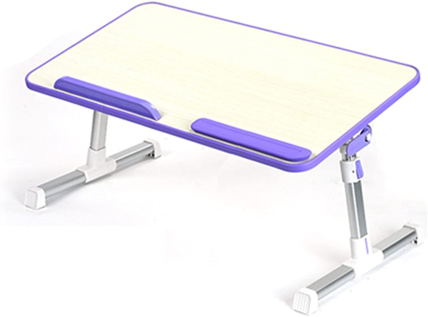 ZZHF zhuozi Folding Table Raisable   Portable Removable   Computer Table Dining Table (color   C, Size   52  30CM)