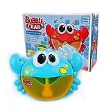 GUOYIHUA Baby Bath Bubble Toy Kinder Krabbe Automatische Bubble Pot Das Beste Badespielzeug mit Musik für Jungen Mädchen