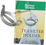 Herbaria Halter für Teefilter (Edelstahlspange), 1er Pack (1 x 8 g Packung)