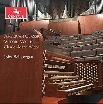 American Classic Widor, Vol. 6