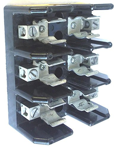 Bussmann J60030-3CR 30A 3P Same day Deluxe shipping Holder 600V Block Fuse