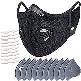 スポーツマスク バルブ付き マスク PM2.5 活性炭フィルター