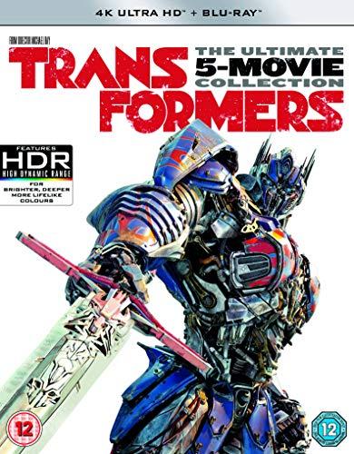 Transformers: The Last Knight- 5 Film Collection (11 Discs Including Bonus Disc) (Bd+Uhd) [Edizione: Regno Unito] [Italia] [Blu-ray]